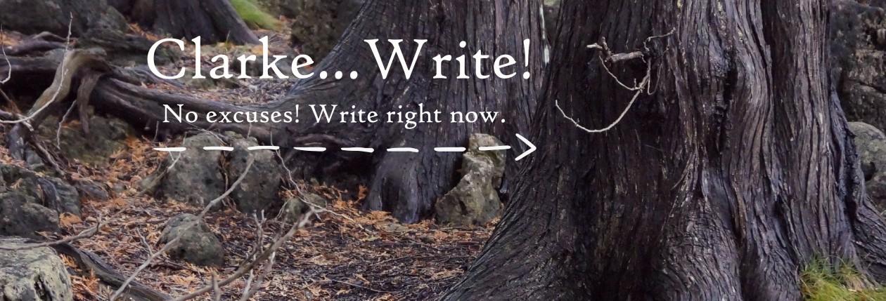 Clarke…Write!
